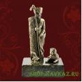 Пастух и собака, бронзовая статуэтка
